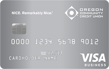 OCCU Visa Business Card