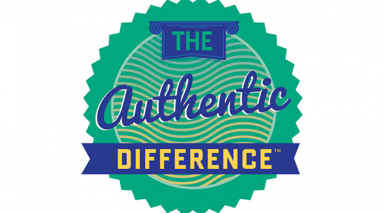 The authentic difference icon